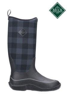 Muck Boots Black Hale Wellington Boots