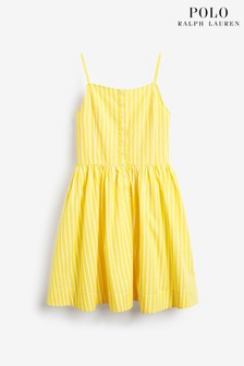 Ralph Lauren Yellow Stripe Dress