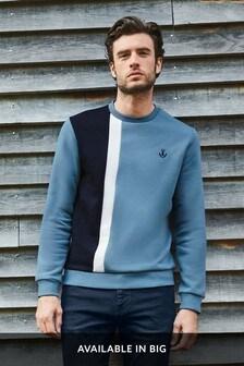 Vertical Blocked Sweatshirt