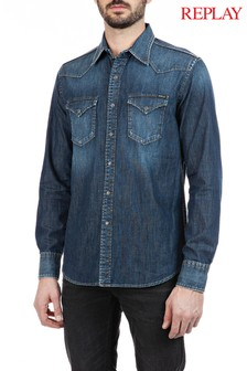 Replay® Denim Shirt