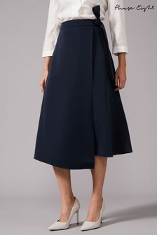 Phase Eight Blue Naseem Skirt