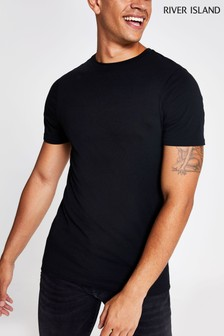 River Island Muscle Crew T-Shirt
