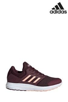 Темно-красные кроссовки adidas Galaxy 4