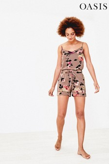 Oasis Natural Pineapple Pyjama Shorts