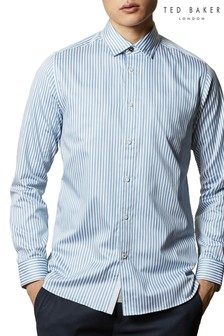 Ted Baker Desole Cotton Striped Shirt