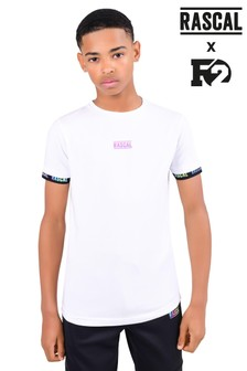 Rascal Black Iridescent Tape T-Shirt
