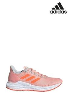 Розовые кроссовки adidas Solaride
