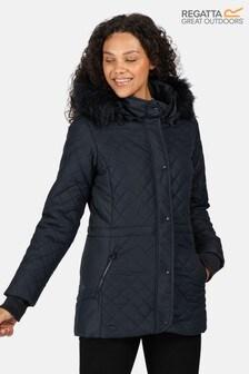 Regatta Blue Zella Quilted Insulated Jacket