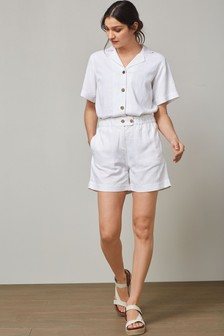 Shorts With Linen