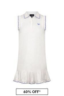 Emporio Armani Girls White Dress