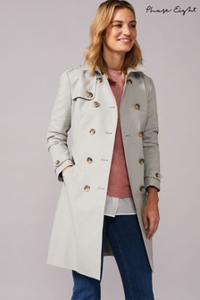 Phase Eight Sage Tabatha Trench Coat