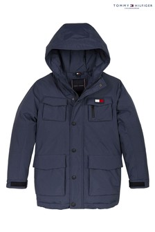 Tommy Hilfiger Blue Tech Parka