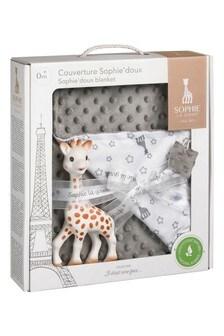 Sophie La Girafe Teether & Blanket Gift Set