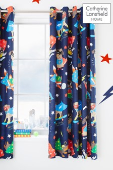 Super Dog Eyelet Curtains by Catherine Lansfield