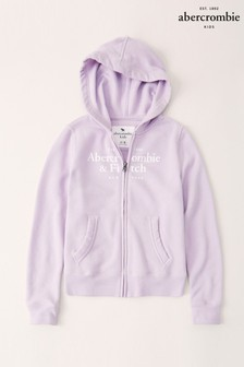 Abercrombie & Fitch Purple Zip Through Hoody