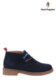 Hush Puppies Blue Marie Ankle Boots