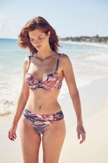 Wrap Front Shape Enhancing Bikini Top