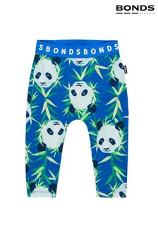 Bonds Blue Panda Leggings