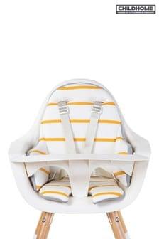 Childhome Evolu Seat Cushion Jersey Ochre Stripes