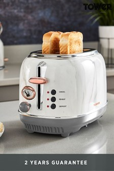 2 Slot Marble Toaster by Tower