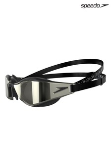 Speedo Black Fastskin Hyper Elite Mirror Goggles