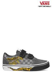 Vans Youth Ward Velcro Dinosaur Trainers