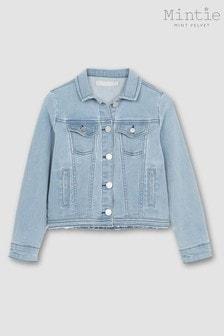 Mintie by Mint Velvet Washed Blue Denim Jacket