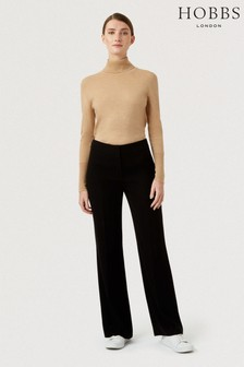 Hobbs Black Petite Alva Trousers