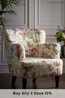 Botany Summer Dalston Chair By Clarke Clarke