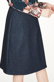 Thought Blue Nicol Skirt