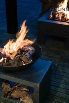 Firebowl Rectangle Console by Ivyline