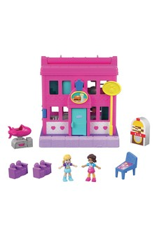 Polly Pocket Pollyville Diner Playset