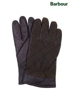 Barbour® Olive Dalegarth Gloves