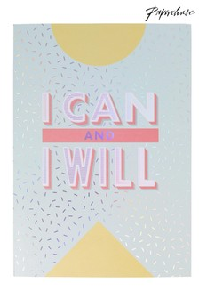 Paperchase I Can And I Will Journal