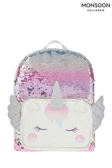 Monsoon Multi Whispie Wings Sequin Backpack