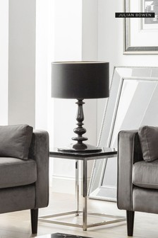 Scala Black Lamp Table by Julian Bowen