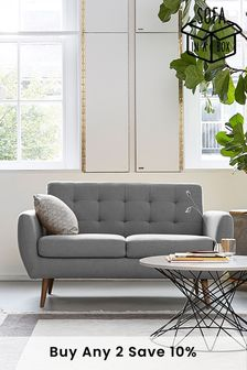 Hyett 2 Seater 'Sofa In A Box' with Mid Legs