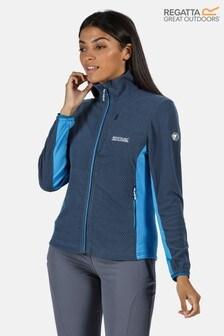 Regatta Blue Highton Full Zip Fleece Jacket