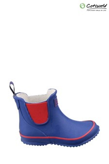 Cotswold Blue Bushy Wellington Boots
