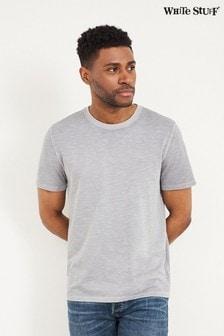 White Stuff Grey Abersoch Organic Plain T-Shirt