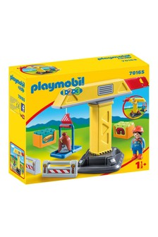 Playmobil® 70165 1.2.3 Construction Crane