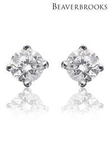 Beaverbrooks 18ct Diamond Stud Earrings