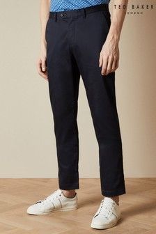 Ted Baker Smile Slim Fit Smart Satin Chinos