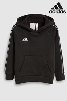 adidas Black Core 18 Pullover Hoody