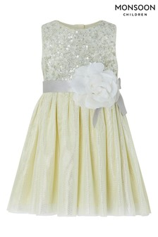 Monsoon Yellow Baby Truth Dress