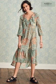 Morris & Co Ruffle Dress