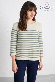 Seasalt Green Jonquil Jumper