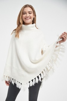 Fringe Detail Cape