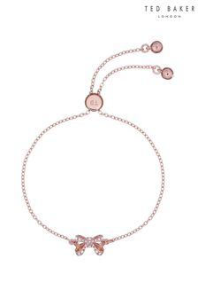 Ted Baker Carsaa Crystal Petite Bow Drawstring Bracelet