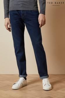 Ted Baker Solang Straight Leg Mid Wash Jeans